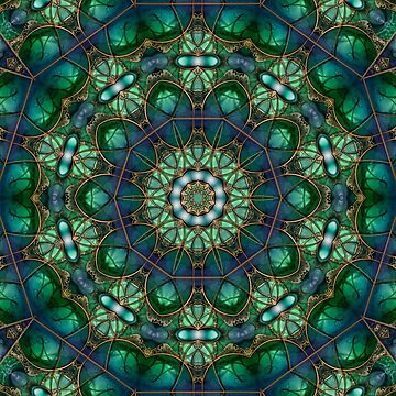 Emerald Kaleidoscope  by KirstenStar