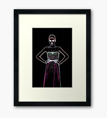 High Fashion Dress Fine Art Print Framed Print
