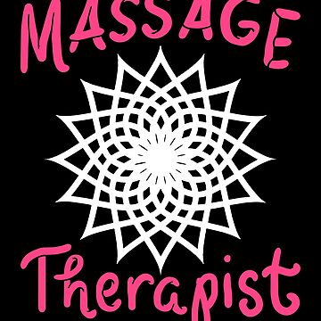 Massage Therapy Yoga Relax Relaxation Health Gift by Netsrikfa