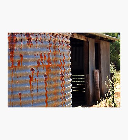 Rusty Water Tank # 2 Photographic Print