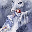 White Dragon Rider by Janet Chui