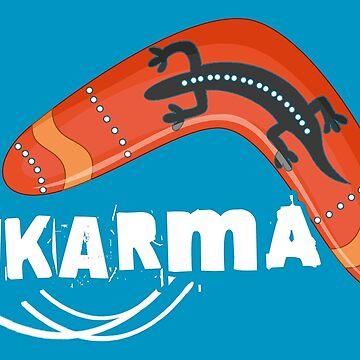 Karma Boomerang by EddieBalevo