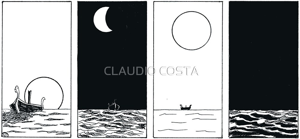 """VIKINGS """"night and day"""" by CLAUDIO COSTA"""