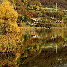Reflections on the Lake Endine by annalisa bianchetti