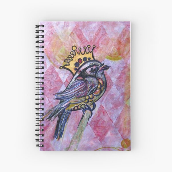 The King of All That Spiral Notebook