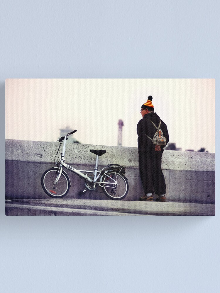 Alternate view of Catalan Wool Knit Hat Canvas Print