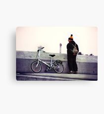 Catalan Wool Knit Hat Canvas Print