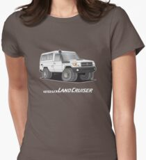 Toyota Troop Carrier Women's Fitted T-Shirt