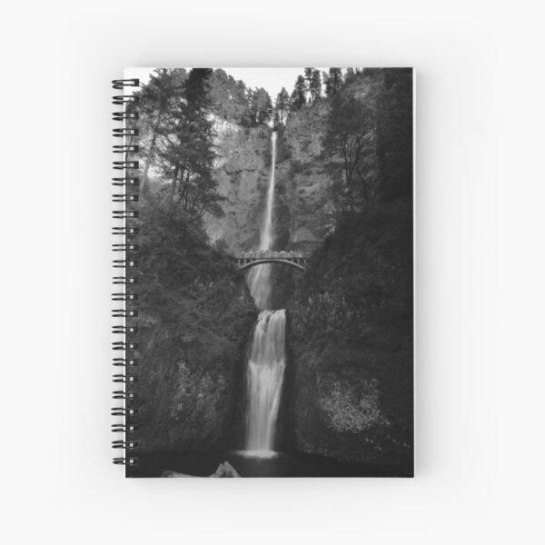 Falling for Portland Spiral Notebook