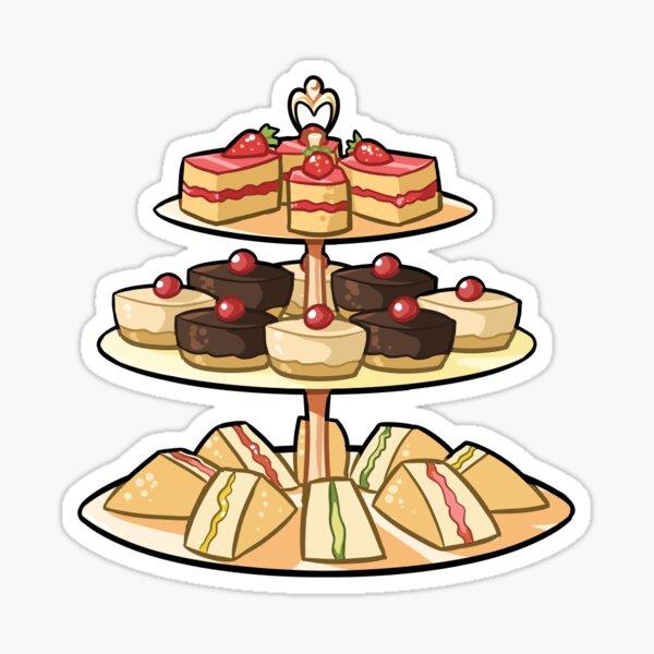 Tea Time Kawaii Sticker