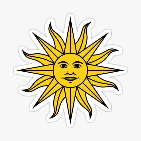 Uruguay Sol. Pegatina
