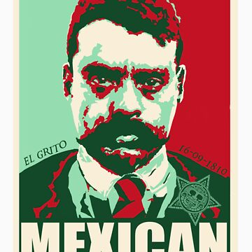 MEX BAD ZAPATA by roger7265