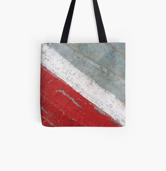 Diagonal All Over Print Tote Bag
