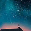 """the stars said hello, love."" by mienar"