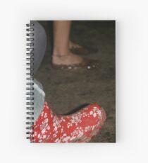 Festival Feet Spiral Notebook