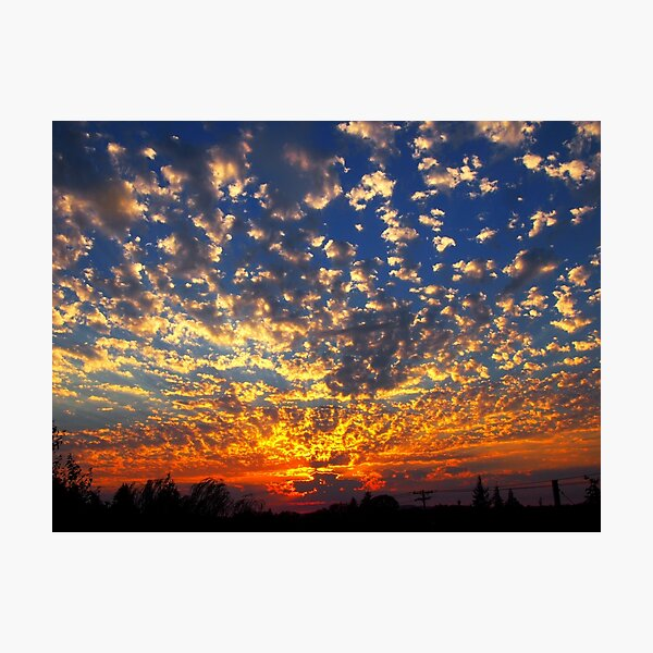 Oregon Sunset Photographic Print