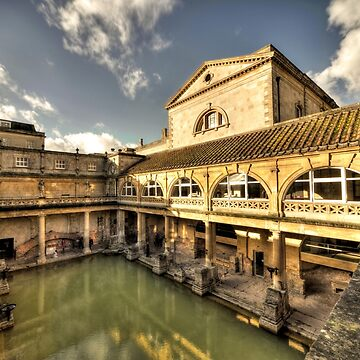 The Roman Baths at Bath by hawkie