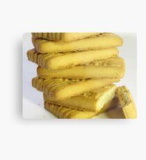 Biscuits Metal Print