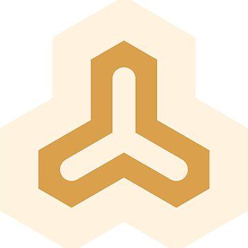 Geometric Pattern: Y: Cream/Gold by redwolfoz