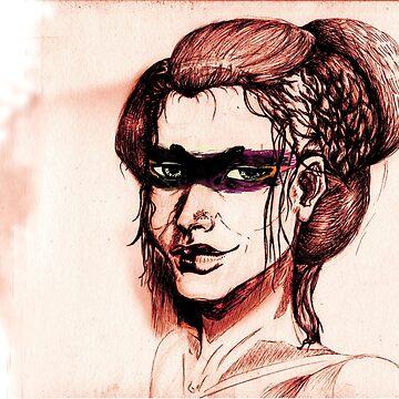 """Geisha"" by Spy-ralGrinder"