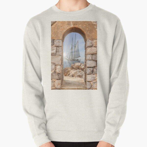 sail boat Pullover Sweatshirt