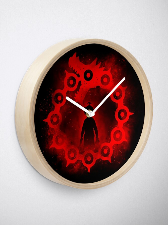 Alternate view of Dragon's Sin of Wrath Clock