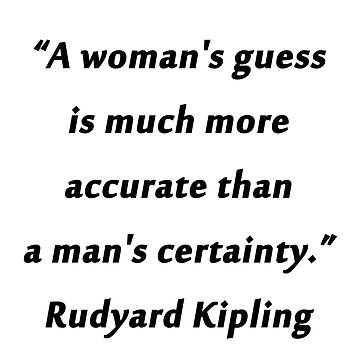Kipling - Womans Guess by CrankyOldDude
