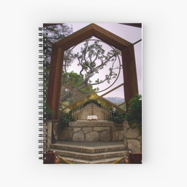 Wayfarers Chapel Spiral Notebook