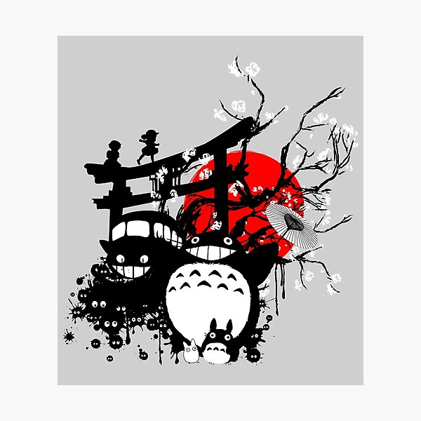 Japan Spirits Photographic Print