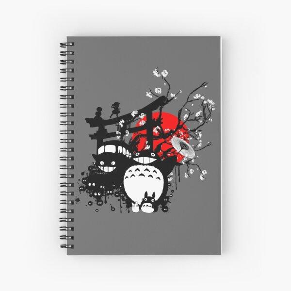 Japan Spirits Spiral Notebook