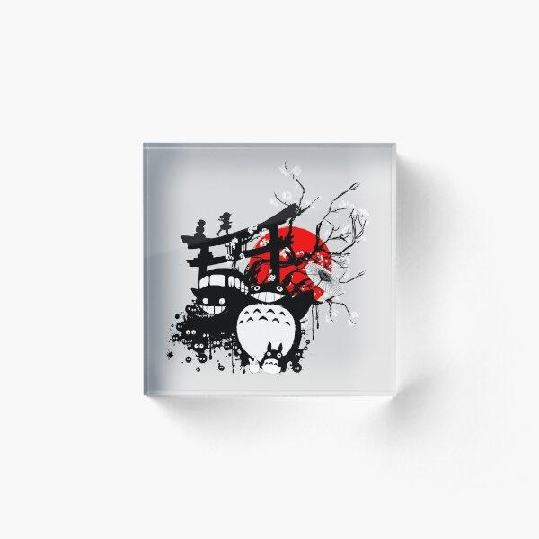 Japan Spirits Acrylic Block