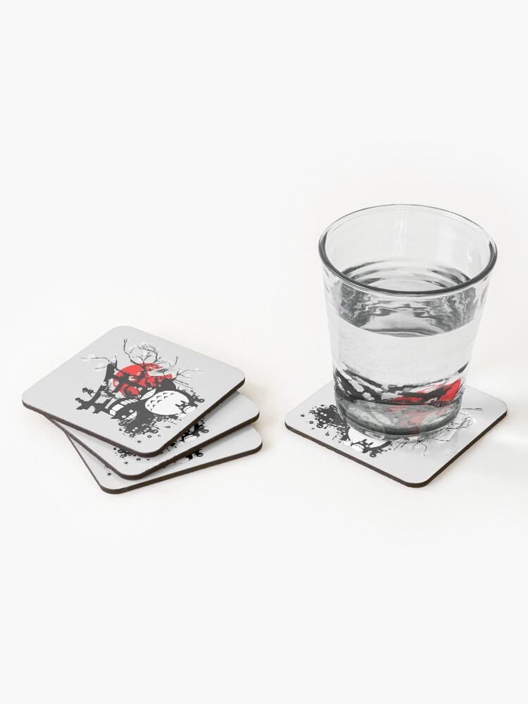 Alternate view of Japan Spirits Coasters (Set of 4)