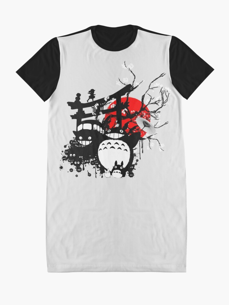 Alternative Ansicht von Japan Spirituosen T-Shirt Kleid