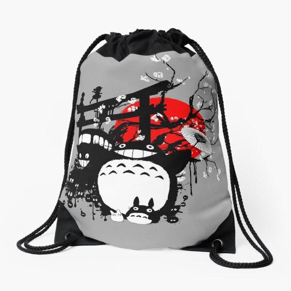 Japan Spirits Drawstring Bag