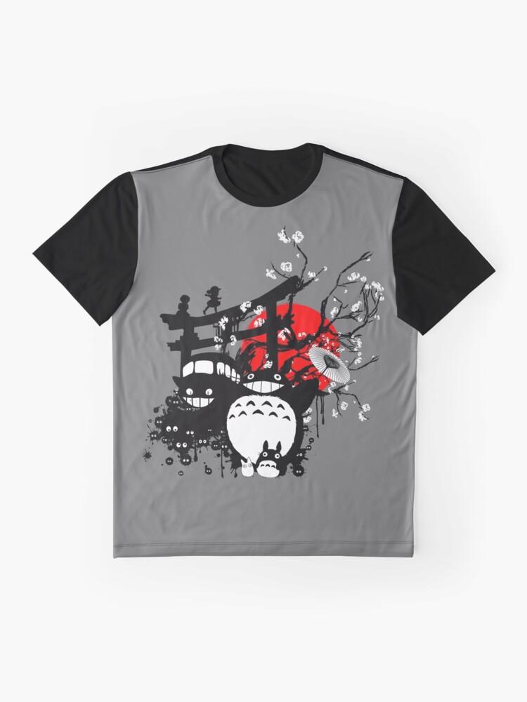Vista alternativa de Camiseta gráfica Espíritus de Japón