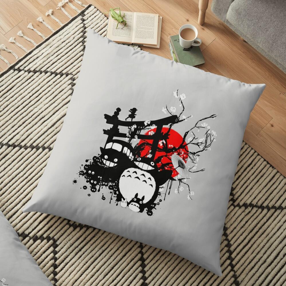 Japan Spirits Floor Pillow