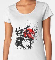 Spiritueux du Japon T-shirt premium échancré