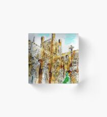 CHESTER CATHERDRAL Acrylic Block