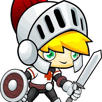 Warrior Boy by MUZA9