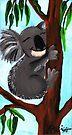 Cute Koala by Kayleigh Walmsley