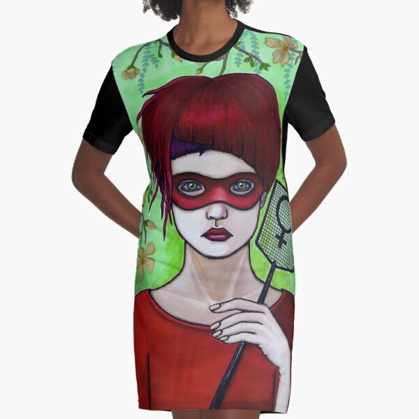 Smash the Patriarchy Graphic T-Shirt Dress