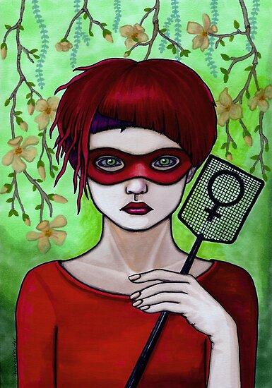 Smash the Patriarchy by Alexandra Melander