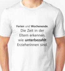 Educator | Nursery kindergarten Kita gift Unisex T-Shirt