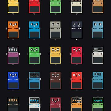 Guitar Pedals by rolito86