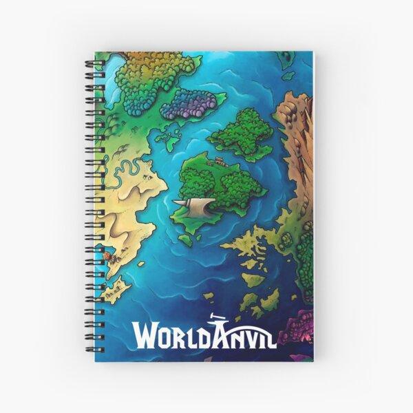 World Anvil: Anvil Island Spiral Notebook