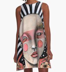 Maskerade A-Linien Kleid