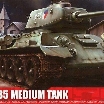T34 tank by BigRedDot
