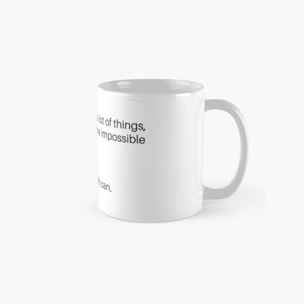 What can a natural 20 do? Classic Mug