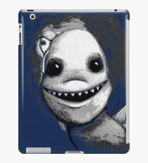 Meeting New People for Nessie and Mermaid (Grayscale Version)  iPad Case/Skin