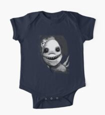 Meeting New People for Nessie and Mermaid (Grayscale Version)  One Piece - Short Sleeve